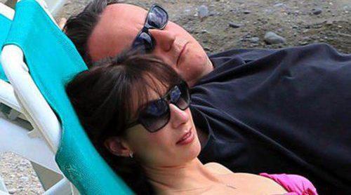 David Cameron disfruta de unas vacaciones en Ibiza con su mujer Samantha y sus tres hijos