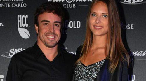 Fernando Alonso y Dasha Kapustina presumen de amor en una glamurosa fiesta en Montecarlo