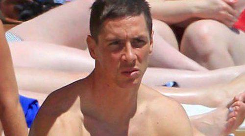 Fernando Torres y Olalla Domínguez disfrutan de unas vacaciones en Ibiza con sus hijos