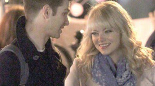 Emma Stone y Andrew Garfield presumen de amor dentro y fuera del rodaje de 'The Amazing Spiderman 2'