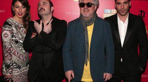 Pedro Almodóvar, Blanca Suárez y Miguel Ángel Silvestre presentan 'Los amantes pasajeros' en Nueva York