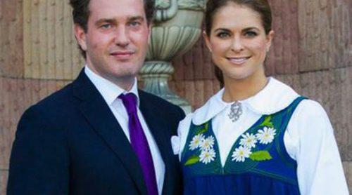 Magdalena de Suecia y Chris O'Neill, protagonistas del Día Nacional de Suecia antes de su boda