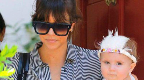 Kourtney Kardashian, eclipsada por el estiloso look de su hija Penélope