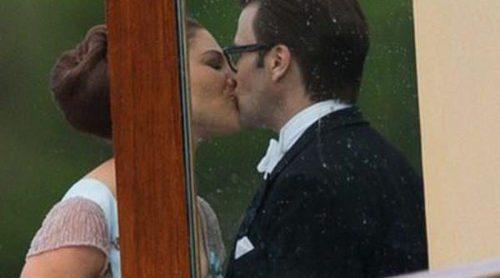 Victoria y Daniel de Suecia, pasión en la boda de Magdalena de Suecia y Chris O'Neill
