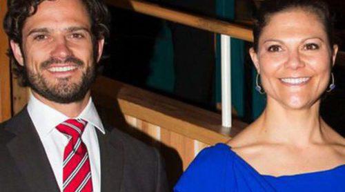 Victoria y Carlos Felipe de Suecia retoman su agenda oficial tras la boda de la Princesa Magdalena