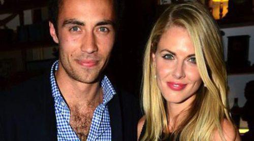 James Middleton y Donna Air, una pareja feliz y enamorada de consolida su noviazgo