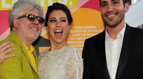 Pedro Almodóvar estrena 'Los amantes pasajeros' en Los Angeles con Blanca Suárez y Miguel Ángel Silvestre