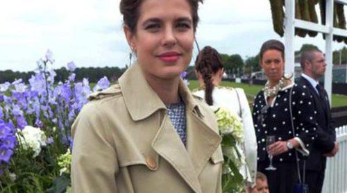 Carlota Casiraghi, la Reina Isabel y Beatriz de York, realeza en la Copa de la Reina de Polo