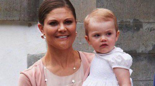 La Princesa Victoria de Suecia celebra su 36 cumpleaños con su hija Estela como protagonista
