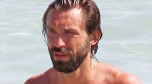 Andrea Pirlo disfruta de unas vacaciones familiares en Ibiza
