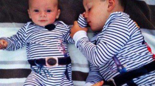 Coleen Rooney publica una imagen de sus hijos Kai y Klay disfrazados de piratas