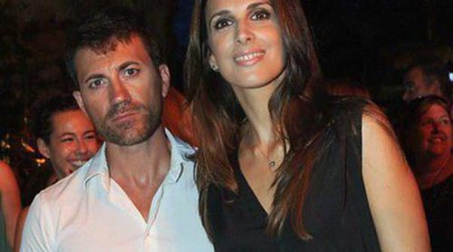 Nuria Fergó luce a su novio Miguel Palomo en la inauguración del Starlite Festival 2013