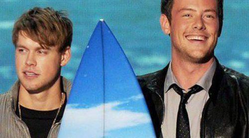 Cory Monteith recibe un homenaje de parte de Lea Michele y sus compañeros de 'Glee'