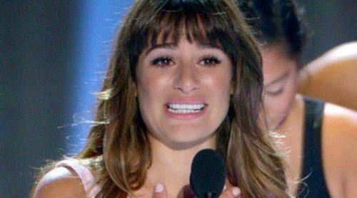 Lea Michele reaparece en público tras la muerte de Cory Monteith en los Teen Choice Awards 2013