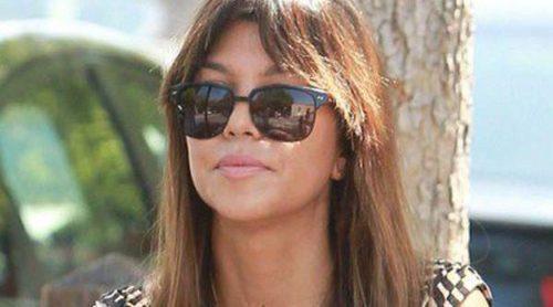 Kourtney Kardashian continúa con su vida cotidiana después de la polémica de Michael Girgent