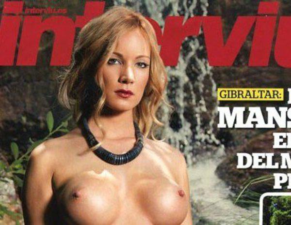 Interviú Desnuda En Su Portada A Belén Sobrina De Cela Y Extronista