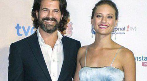 Rodolfo Sancho y Michelle Jenner celebran el estreno de la segunda temporada de 'Isabel' en Granada