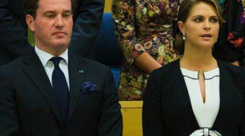 Chris O'Neill acompaña por primera vez a la Familia Real Sueca en la apertura del Parlamento