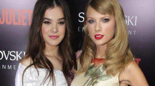 Taylor Swift apoya a Hailee Steinfeld, Douglas Booth y Ed Westwick en el estreno de 'Romeo y Julieta'