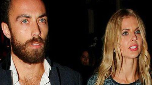 James Middleton y Donna Air, dos enamorados en la apertura de un club en Londres