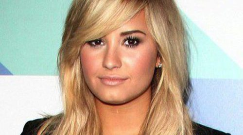 Demi Lovato ya es una más en el rodaje de la quinta temporada de 'Glee'