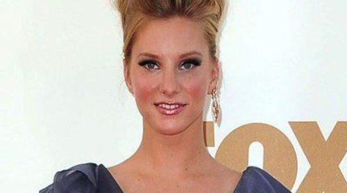 La actriz de 'Glee' Heather Morris da a luz a Elijah, su primer hijo