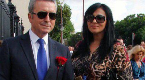 José Ortega Cano y su novia Ana María Aldón, tarde de toros en La Maestranza de Sevilla