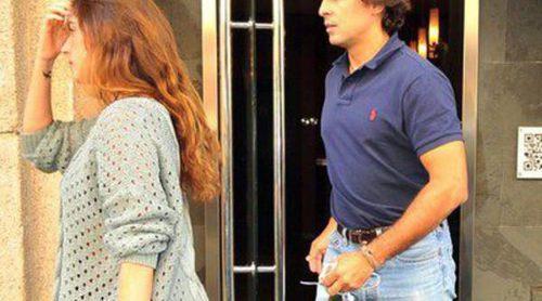 Fran Rivera y Lourdes Montes disfrutan de una comida romántica en Madrid tras volver de su luna de miel