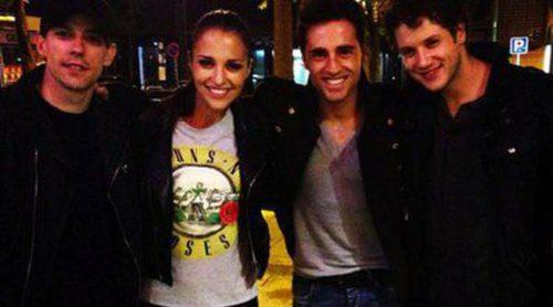 Paula Echevarría y David Bustamante disfrutan de un fin de semana muy musical