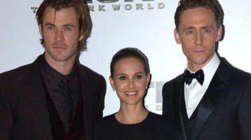 Chris Hemsworth, Natalie Portman y Tom Hiddleston estrenan 'Thor: El mundo oscuro' en Londres