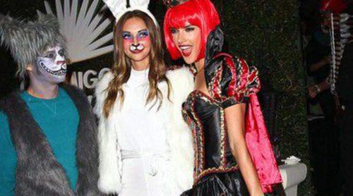 Alessandra Ambrosio, Vanessa Hudgens y Cindy Crawford, de 'Halloween Party' en Los Ángeles
