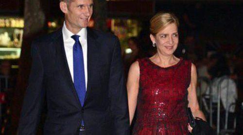 La Infanta Cristina e Iñaki Urdangarín regresan a España para asistir al enlace entre Pablo Lara y Anna Brufau