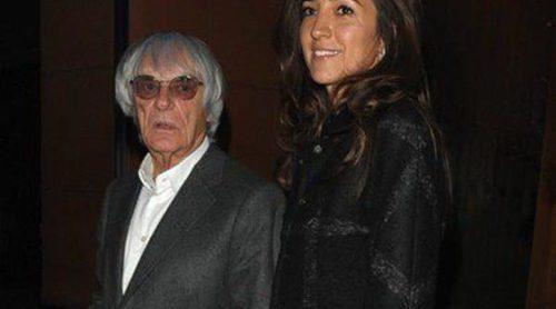 Bernie Ecclestone celebra su 83 cumpleaños con su mujer y sus hijas Tamara y Petra Ecclestone
