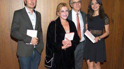 La Baronesa Thyssen y Marta Fernández arropan a Guillermo Solana en la presentación de su libro