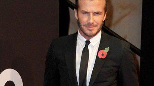 David Beckham y Kylie Minogue asisten a los Premios GQ 'Hombres del año' 2013 en Berlín