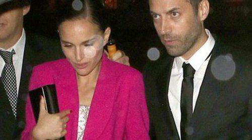 Natalie Portman, Karl Lagerfeld y Jaime de Marichalar en la inauguración de la exposición 'Miss Dior'