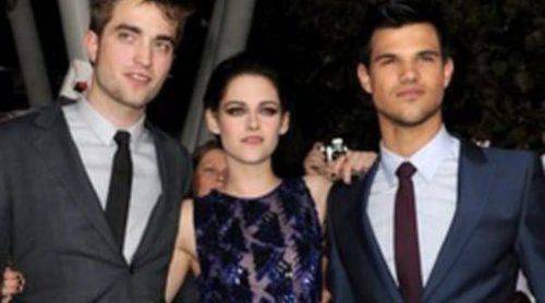 Robert Pattinson, Kristen Stewart y Taylor Lautner paralizan Los Ángeles para estrenar 'Amanecer. Parte 1'