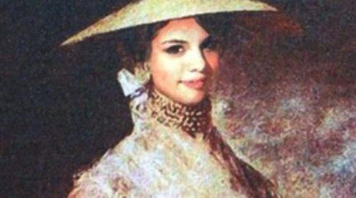 Selena Gomez, Justin Bieber, Beyoncé, Lady Gaga y Katy Perry convertidos en pinturas