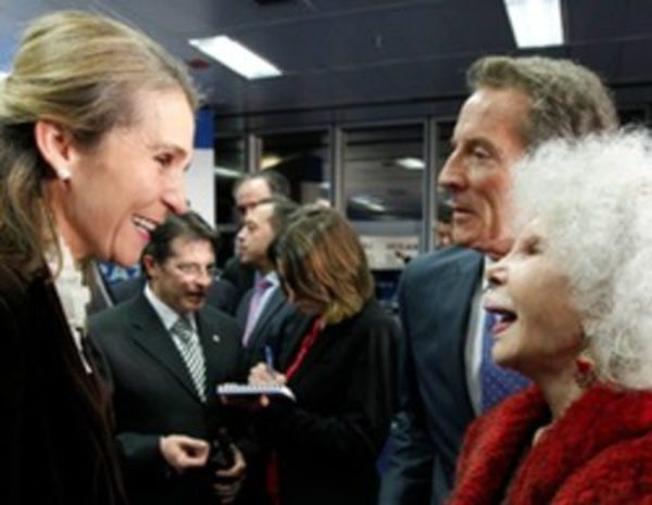 La infanta elena preside la iv edici n de los premios for Alfonso dominguez madrid