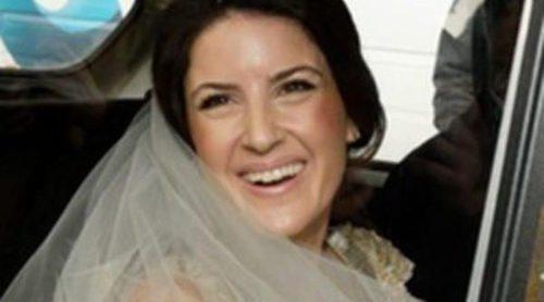 La emocionante boda de José María Aznar Botella y Mónica Abascal ante la cúpula del PP