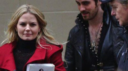 Jennifer Morrison y un Colin O'Donoghue convertido en Capitán Garfio graban la tercera temporada de 'Érase una vez'