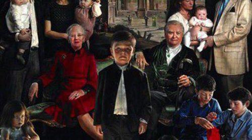 La Familia Real de Dinamarca estrena un polémico retrato lleno de realismo y oscuridad
