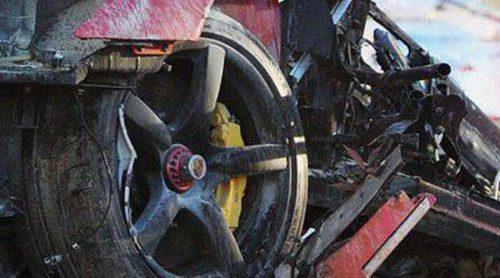 Así quedó el coche en el que murió Paul Walker, que recibe el homenaje de sus compañeros de 'Fast & Furious'