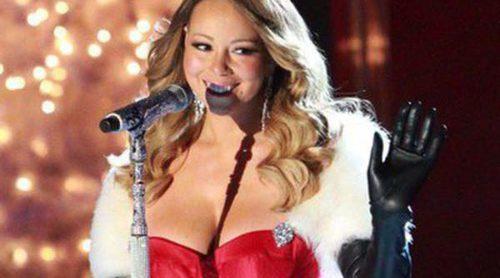 Mariah Carey da la bienvenida a la Navidad en Rockefeller Center