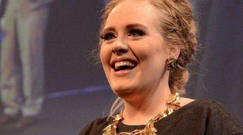 Adele y Simon Konecki disfrutan de la noche en un concierto privado de Lady Gaga