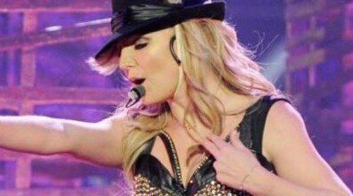 Miley Cyrus y Katy Perry apoyan a Britney Spears en el estreno de 'Piece of Me' en Las Vegas