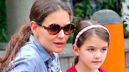 Katie Holmes despide 2013 con su hija Suri Cruise en Miami