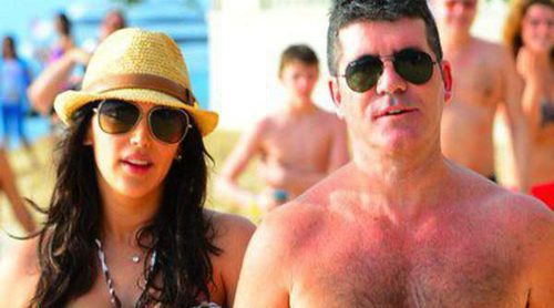 Simon Cowell y Lauren Silverman, románticas vacaciones en Barbados antes de ser padres