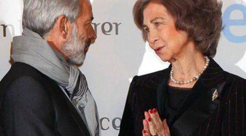 La Reina Sofía y Ana Duato apoyan a Imanol Arias y Aída Folch en el estreno de 'Vicente Ferrer'