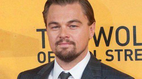 Leonardo DiCaprio y Margot Robbie, radiantes en el estreno de 'El lobo de Wall Street' en Londres